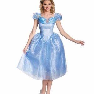 Disney CINDERELLA Adult costume Size 8-10 Medium